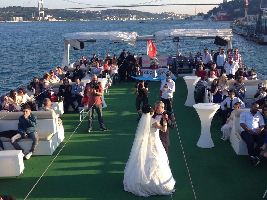 gemide düğün orğanizasyonu