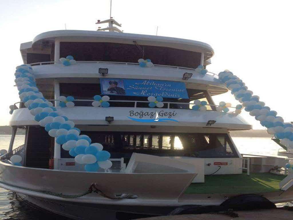 Gemide sünnet düğünü