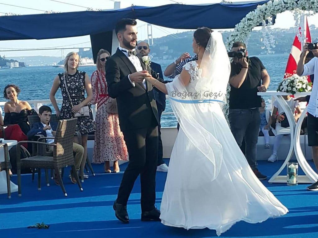 gemide düğün İstanbul