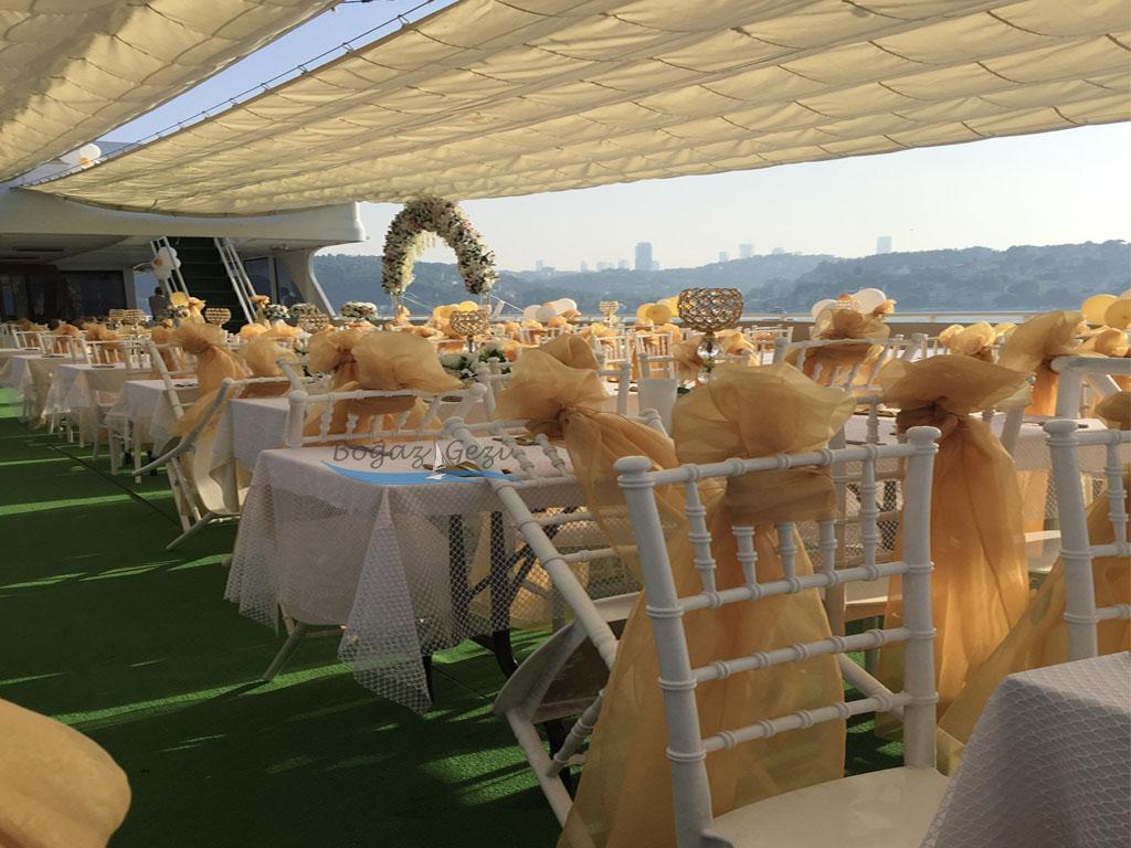 teknede düğün İstanbul